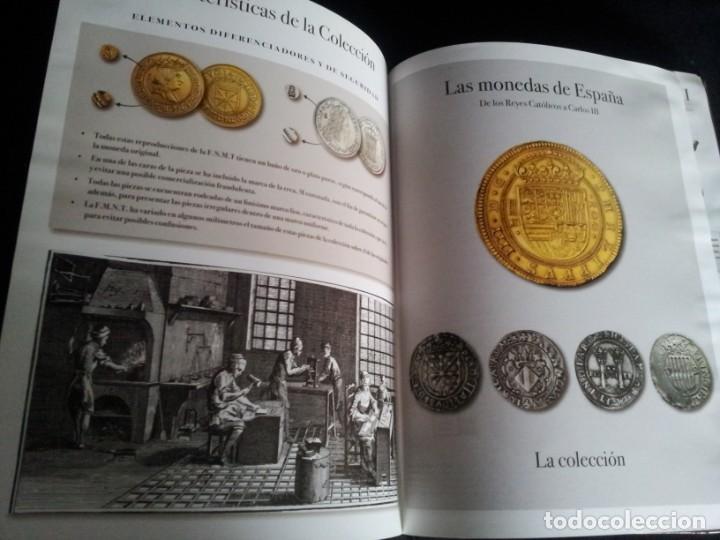 Reproducciones billetes y monedas: LAS MONEDAS DE ESPAÑA, DE LOS REYES CATOLICOS A CARLOS III - REAL CASA DE LA MONEDA 2013 - Foto 4 - 189701406