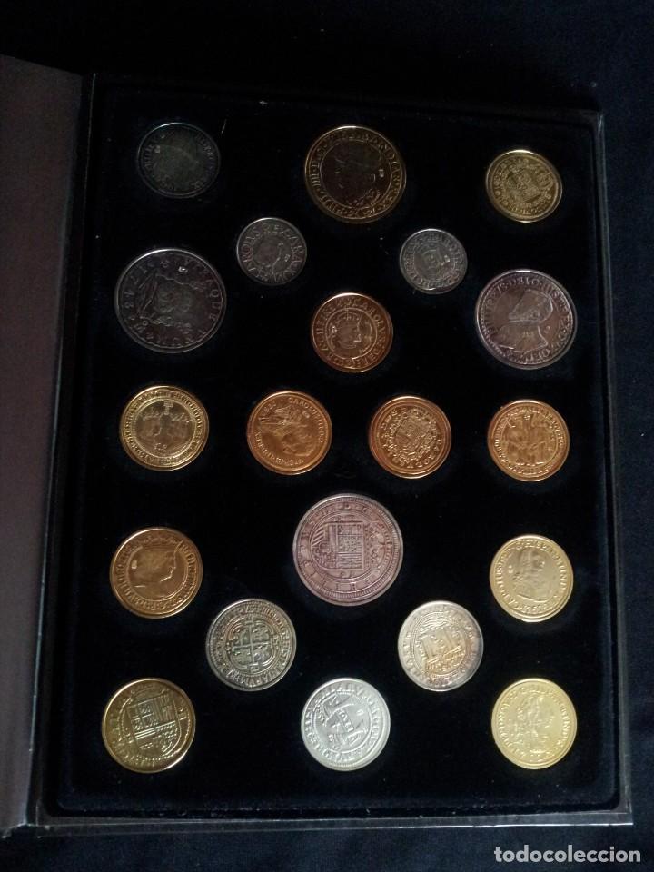 Reproducciones billetes y monedas: LAS MONEDAS DE ESPAÑA, DE LOS REYES CATOLICOS A CARLOS III - REAL CASA DE LA MONEDA 2013 - Foto 5 - 189701406
