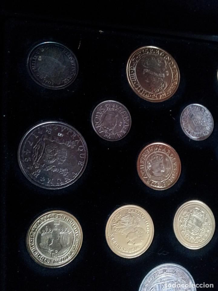 Reproducciones billetes y monedas: LAS MONEDAS DE ESPAÑA, DE LOS REYES CATOLICOS A CARLOS III - REAL CASA DE LA MONEDA 2013 - Foto 6 - 189701406