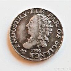 Riproduzioni banconote e monete: USA AMERICA HALF DISME 1792 - 16.MM DIAMETRO. Lote 209612915