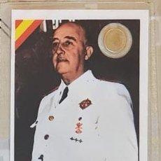 Reproducciones billetes y monedas: CARNET CONMEMORATIVO FRANCO CON MONEDA (2). Lote 192978385