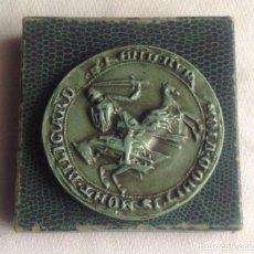 Reproducciones billetes y monedas: MEDALLA REPRODUCIDA SEGÚN SELLO ORIGINAL POR LOS AMIGOS ARCHIVOS DE FRANCIA, SEGÚN TEXTO DE SU CAJA. Lote 193811553