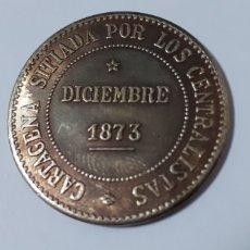 Reproducciones billetes y monedas: CARTAGENA ,PARTIDO CANTONAL DOS PESETAS 1873. Lote 193839912