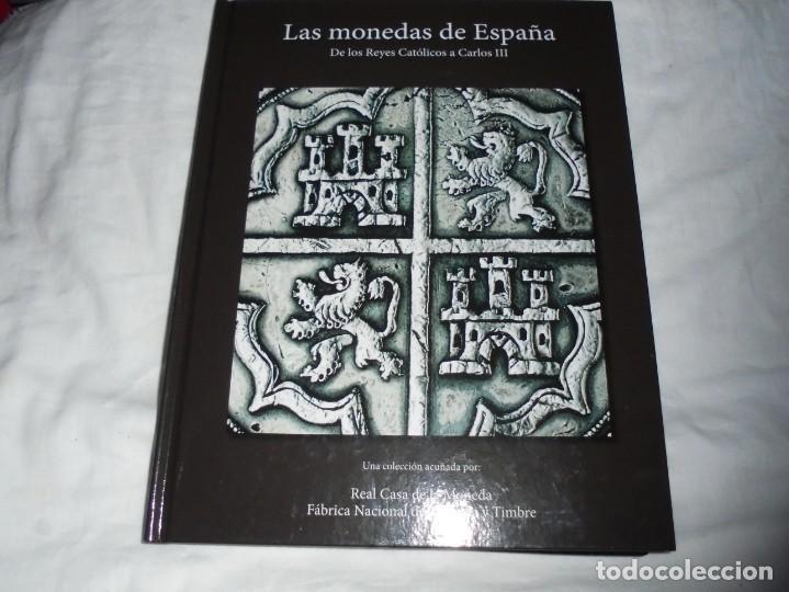 LAS MONEDAS DE ESPAÑA DE LOS REYES CATOLICOS A CARLOS III (20 MONEDAS CON BAÑO DE PLATA Y ORO)2013 (Numismática - Reproducciones)