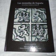 Reproducciones billetes y monedas: LAS MONEDAS DE ESPAÑA DE LOS REYES CATOLICOS A CARLOS III (20 MONEDAS CON BAÑO DE PLATA Y ORO)2013. Lote 193967742