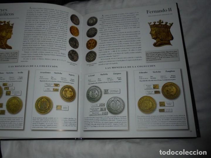 Reproducciones billetes y monedas: LAS MONEDAS DE ESPAÑA DE LOS REYES CATOLICOS A CARLOS III (20 MONEDAS CON BAÑO DE PLATA Y ORO)2013 - Foto 5 - 193967742