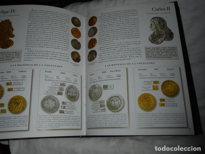 Reproducciones billetes y monedas: LAS MONEDAS DE ESPAÑA DE LOS REYES CATOLICOS A CARLOS III (20 MONEDAS CON BAÑO DE PLATA Y ORO)2013 - Foto 6 - 193967742