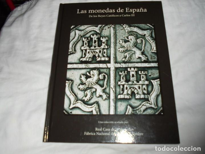 Reproducciones billetes y monedas: LAS MONEDAS DE ESPAÑA DE LOS REYES CATOLICOS A CARLOS III (20 MONEDAS CON BAÑO DE PLATA Y ORO)2013 - Foto 13 - 193967742