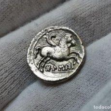 Reproducciones billetes y monedas: DENARIO IBERO ROMANO . Lote 194238092