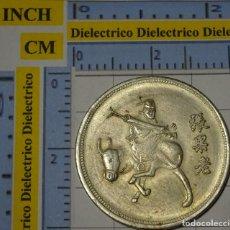 Reproducciones billetes y monedas: MONEDA MEDALLA. REPRODUCCIÓN NUMISMÁTICA. CHINA. 24. Lote 194339655