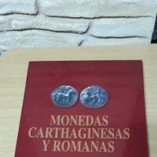 Reproducciones billetes y monedas: COLECCION REPLICAS MONEDAS CARTHAGINESAS Y ROMANAS. Lote 194749685