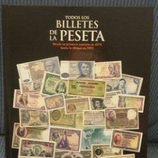 Reproducciones billetes y monedas: TODOS LOS BILLETES DE LA PESETA. Lote 195192610