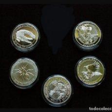 Reproducciones billetes y monedas: LOTE DE 5 MONEDAS AUSTRALIANAS. Lote 195308138