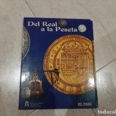 Reproducciones billetes y monedas: DEL REAL A LA PESETA . . Lote 195407122