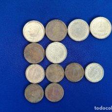 Reproducciones billetes y monedas: LOTE 12 MONEDAS DE EUROPA. Lote 197056472