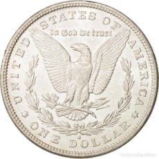 Reproducciones billetes y monedas: MORGAN USA REPRODUCCION ONE DOLLAR 1895. Lote 200089766
