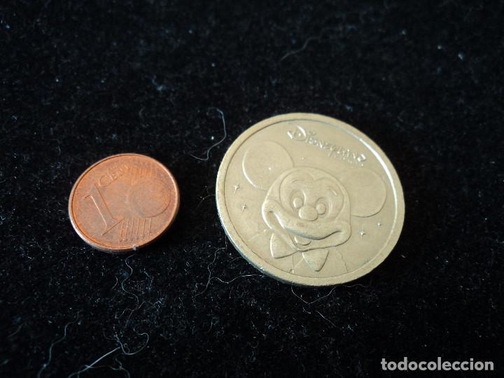 MONEDA DISNEYLAND PARIS (Numismática - Reproducciones)