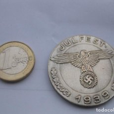 Reproducciones billetes y monedas: MONEDA ALEMANIA NAZI REICH SEGUNDA GUERRA MUNDIAL TORNEOS DE LAS SS DE 1936 EN PRUSIA. JULFEST 1939. Lote 201373452