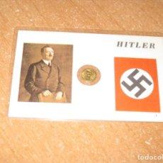 Reproducciones billetes y monedas: TARJETA HITLER. Lote 202070898