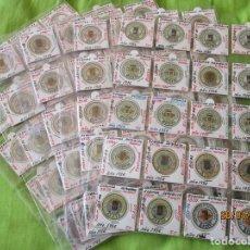 Reproducciones billetes y monedas: LOTE DE 99 CARTONES MONEDAS DE USO PROVISIONAL. 2ª REPUBLICA ESPAÑOLA. LEASE LAS CIUDADES MONEDAS:. Lote 202352561