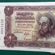 Reproducciones billetes y monedas: BILLETE FACSÍMIL DE FMNT 1 PESETA 19 NOVIEMBRE 1951 CON IMAGEN DE DON QUIJOTE. Lote 203028621