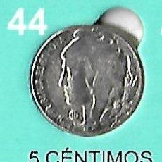 Reproducciones billetes y monedas: MONEDA DE 5 CENTIMOS DE LA II REPUBLICA REPRODUCCION. Lote 204398265