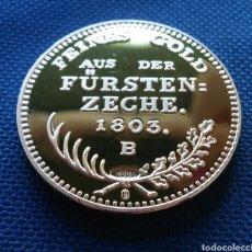 Reproducciones billetes y monedas: DUCADO DE ORO 1803 FEDERICO LLL DE PRUSIA SÓLO EXISTEN 2. Lote 205081005
