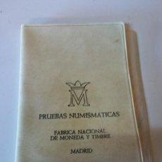Reproducciones billetes y monedas: PRUEBAS NUMISMATICAS. FÁBRICA NACIONAL DE MONEDA Y TIMBRE. MADRID. 6 MONEDAS. VER FOTOS. Lote 205105142