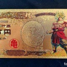 Reproducciones billetes y monedas: BILLETE DE DRAGON BALL. COMPLETA TU COLECCIÓN.. Lote 205286966