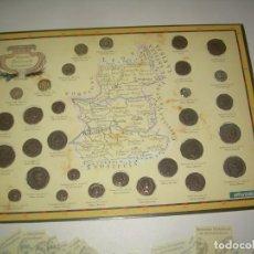Reproducciones billetes y monedas: COLECCIÓN 30 MONEDAS HISTÓRICAS DE EXTREMADURA. COMPLETA CON CARTÓN ÁLBUM Y MÁS. 2007. MONEDA ROMANA. Lote 206189638