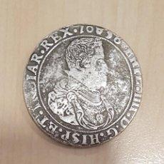 Reproducciones billetes y monedas: DUCATON FELIPE IV PLATA 1651 BRUSELAS. Lote 206230622