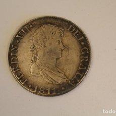 Reproducciones billetes y monedas: FERNANDO VII * 8 REALES 1811 CADIZ CI * PLATA REPRODUCION. Lote 206412586
