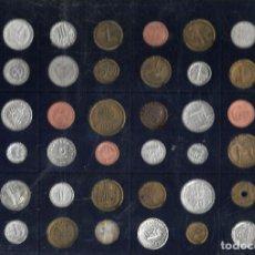Reproducciones billetes y monedas: REPRODUCION MONEDAS EUROPEAS DE LO QUE EL EURO SE LLEVO LO DE LA FOTO. Lote 206901501