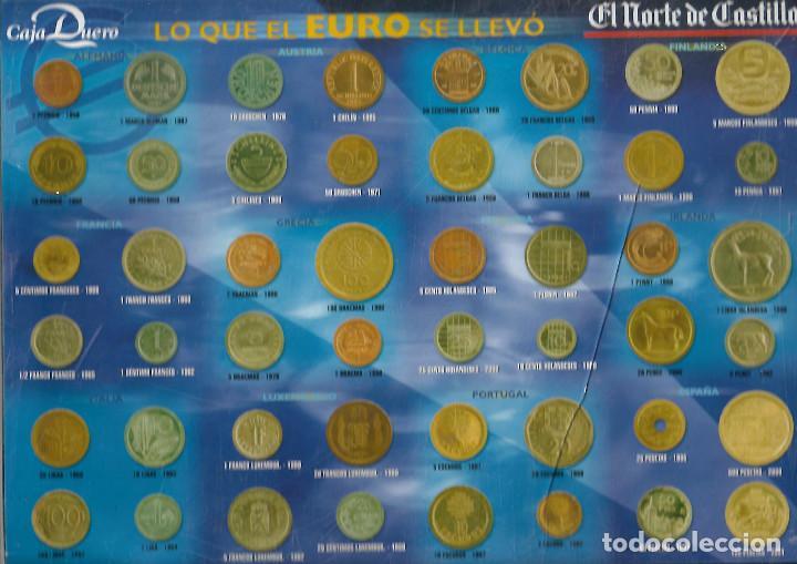 Reproducciones billetes y monedas: REPRODUCION MONEDAS EUROPEAS DE LO QUE EL EURO SE LLEVO LO DE LA FOTO - Foto 2 - 206901501