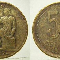 Reproducciones billetes y monedas: REPRODUCCION DE UNA MONEDA DE 50 CENTIMOS 1937. Lote 207046478