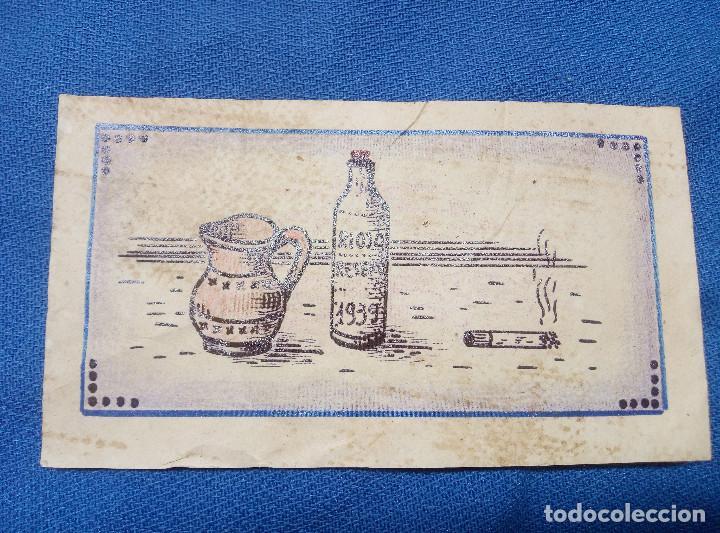 Reproducciones billetes y monedas: BILLETE LOCAL DE LOGROÑO ( LA RIOJA ) 1939 VALE POR 1 KILO DE ARINA DE TRIGO AL MES. - Foto 2 - 207234287