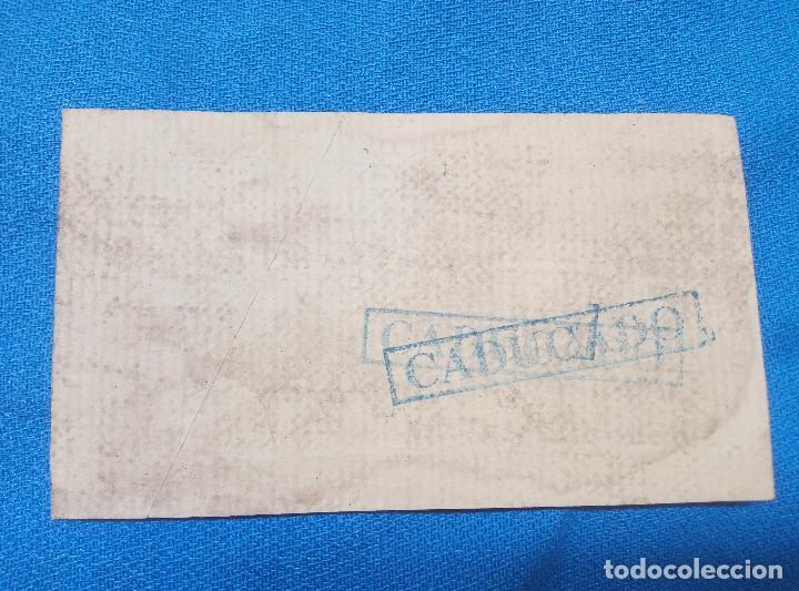 Reproducciones billetes y monedas: BILLETE LOCAL GUADALAJARA 1937 VALE POR UN CUARTERON PAQUETE DE TABACO * PERFECTO * - Foto 2 - 207234958