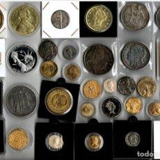 Reproducciones billetes y monedas: LOTE DE MONEDAS. Lote 207356116