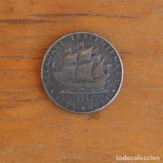 Reproducciones billetes y monedas: MEDIO DOLAR DE PLATA USA 1936 CONMEMORATIVA TRICENTENARIO DELAWARE. Lote 208286255