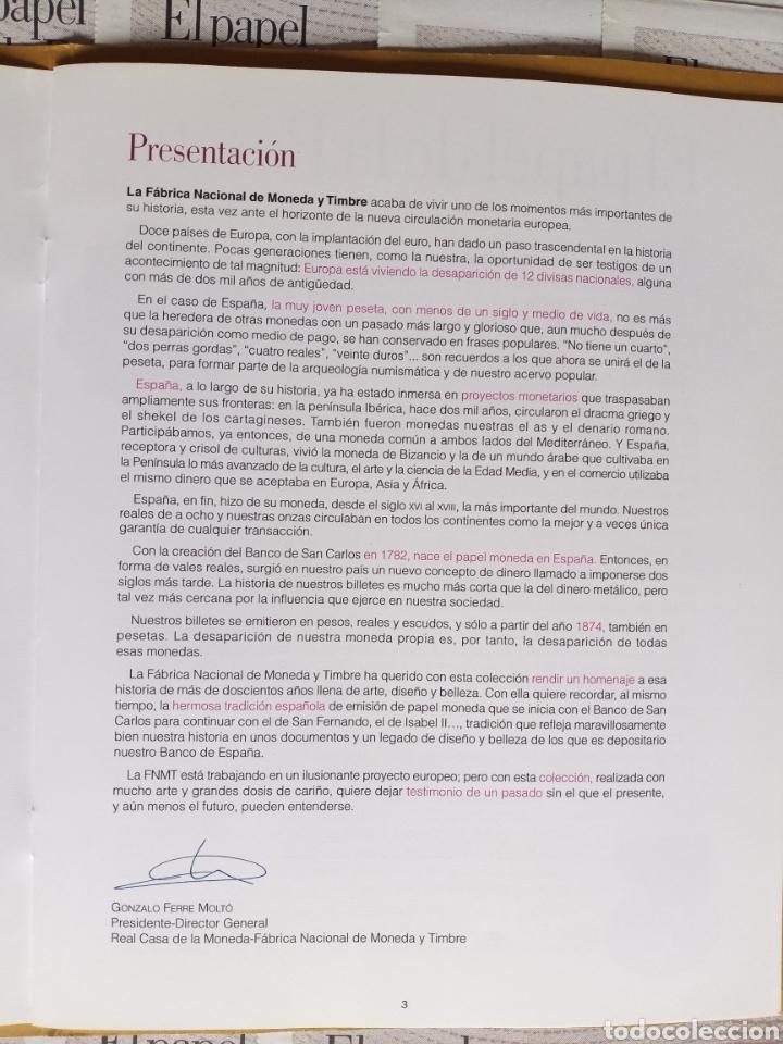 Reproducciones billetes y monedas: EL PAPEL DE LA PESETA completo - Foto 5 - 208357651
