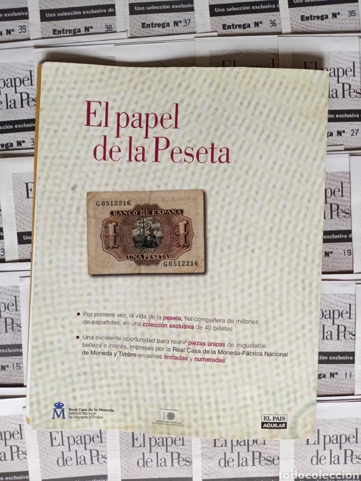 Reproducciones billetes y monedas: EL PAPEL DE LA PESETA completo - Foto 6 - 208357651