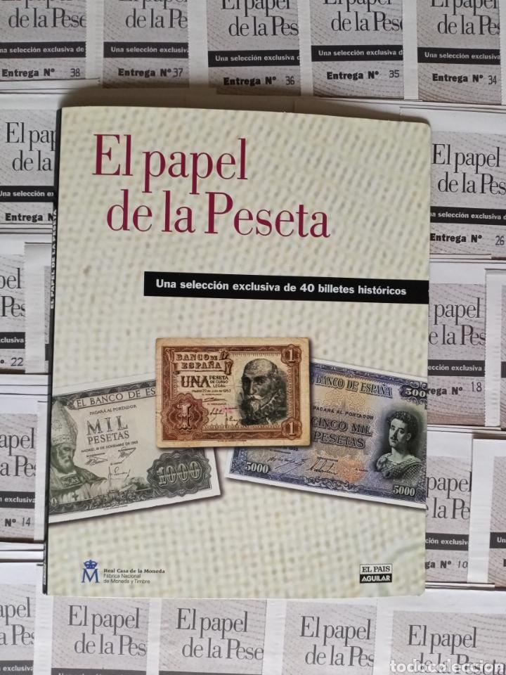 EL PAPEL DE LA PESETA COMPLETO (Numismática - Reproducciones)