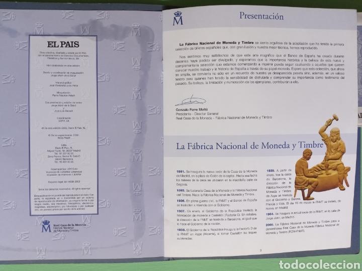 Reproducciones billetes y monedas: EL PAPEL DE LA PESETA II completo - Foto 6 - 208359633