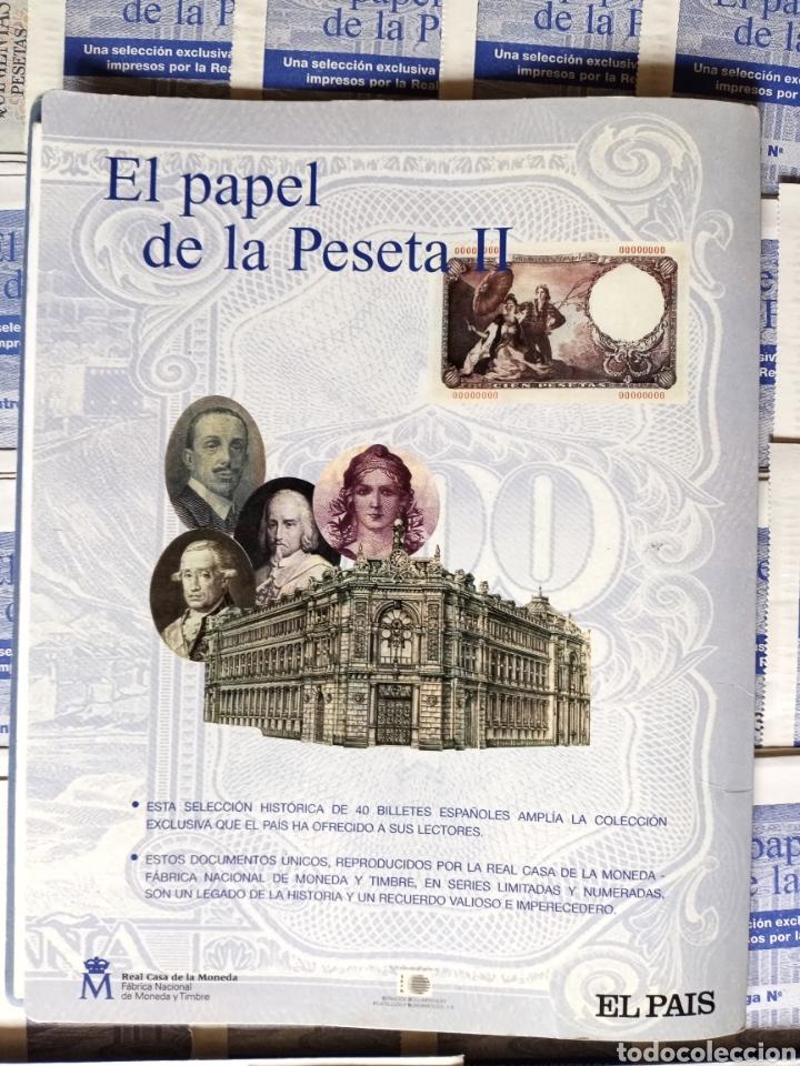 Reproducciones billetes y monedas: EL PAPEL DE LA PESETA II completo - Foto 7 - 208359633