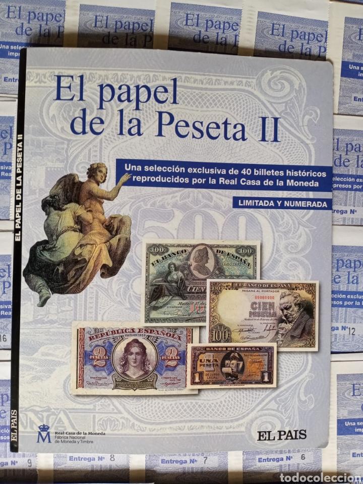EL PAPEL DE LA PESETA II COMPLETO (Numismática - Reproducciones)