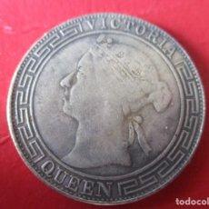 Reproducciones billetes y monedas: CHINA. HONG KONG. MONEDA ANTIGUA 1868. Lote 208445358