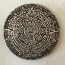 Reproducciones billetes y monedas: MONEDA UN DÓLAR, RÉPLICA 1880. ESTADOS UNIDOS. CALENDARIO MAYA. Lote 208700270