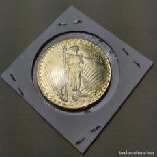 Reproducciones billetes y monedas: COPIA MONEDA 20 DOLARES SAN GAUDEN 1908. ESTADOS UNIDOS.. Lote 208790052