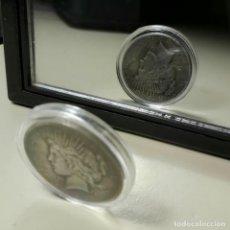 Reproduções notas e moedas: (RESERVADA). MONEDA DE DOS CARAS BATMAN. USA 1922 LIBERTY. Lote 253580890