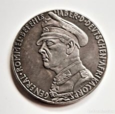 Reproducciones billetes y monedas: 1940 KARL GOETZ ALEMANIA GENERAL ROMMEL - 19.68.GRAMOS APROX - 36.MM DIAMETRO. Lote 210437103